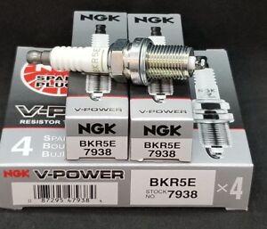 Quantity 6 NGK BKR5E 7938 V-Power Spark Plugs