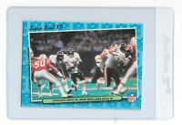 1986 Chicago BEARS Fleer TEAM ACTION Card #85 Super Bowl XX Walter Payton HOF