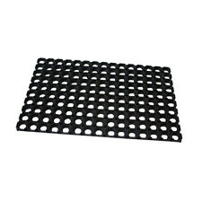 Half Moon Indoor Outdoor Floor Mat Entrance Non-Slip durable rubber 60x40 cm