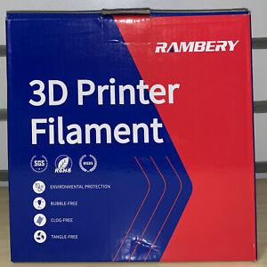 TPU Filament 1.75mm Flexible TPU 3D Printer Filament Dimensional Accuracy, White