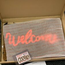Banksy Welcome Mat Love Welcomes Gross Domestic Product GDP | IN HAND