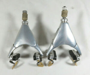 Very Nice Pair Early Generation Campagnolo C Record Delta 3 Pivot Brakes