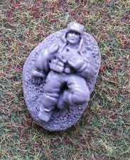 28 mm WW2 Fanteria Sovietico Russo incidenti Marker ferito Chiavistello senza scatto azione (Z)