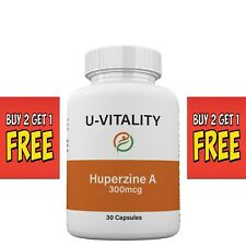 Buy 2 get 1 FREE Huperzine A 300 mcg, Supplements Supports Memory Health