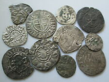 Livonian order medieval  silver 11 coins lot