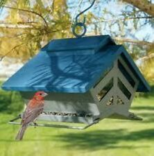 HERITAGE FARMS DOUBLE-SIDED CHALET SQUIRREL RESISTANT BIRD FEEDER