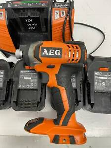 AEG Compact Impact Drill BSS 18 C With Batteries And Charger