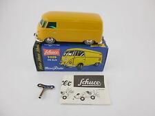 Schuco Micro Racer 1029 VW Volkswagen Bulli Yellow Wind Up Car New in Box