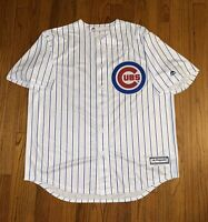Majestic MLB Chicago Cubs Anthony Rizzo Home Jersey White Men's Size XL