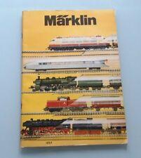 CATALOGUE MARKLIN 1975 - TRAIN ELECTRIQUE HO 1/87