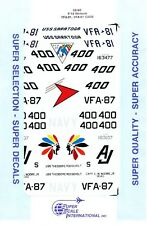 1/32 Super-Scale DECALS 32-90;  F-18 Hornet VFA-81, VFA-87 CAGs