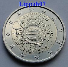 Slowakije 2 euro 10 jaar Euro 2012 UNC