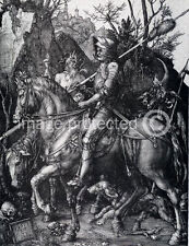 Albrecht Durer Poster Knight Death And The Devil  18x24