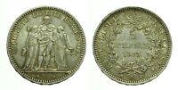 pcc1601_3)  FRANCIA 5 FRANCHI 1873 A Paris TONED