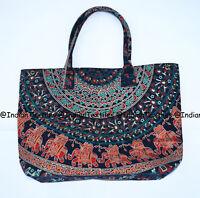 New Mandala Shoulder 100% Cotton Handmade Women'sHandbag Tote Bag Satchel Purse