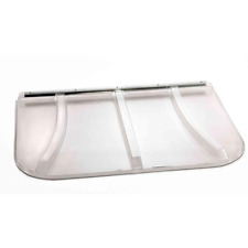 Universal Fit Window Well Cover Plastic 44 x 38 in. Supports Up to 400 lb.
