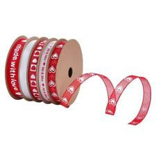 25 M / Roll Satin Ribbons for DIY Crafts Gift Wrapping Valentine's Day Decor