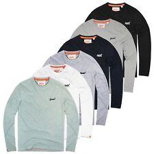 Superdry T-Shirts - Superdry Orange Label Vintage Embroidery Long Sleeve Tee