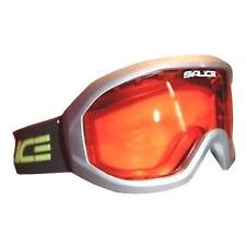 Salice Summit Ski Snowboard Goggles Anti-fog Lens - Silver / Orange