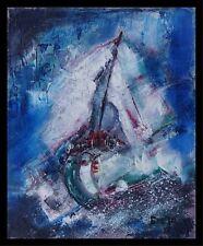 Moderne Kunst signiert  J. Gzegoire -Der Fliegende Holländer dat.2009 xxxxx