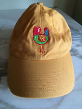Yellow Chicken hat cap crop-a-doodle-do