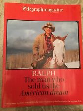 Telegraph Magazine Dec 2016 Ralph Lauren - Exclusive Interview - Matthew Bourne