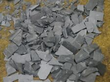 25 sq ins Bag Real Slate Miniature Landscaping Rubble