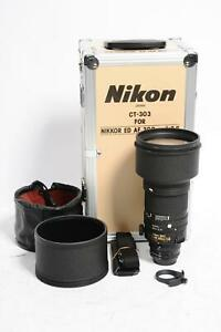 Nikon Nikkor AF 300mm f2.8 ED IF Lens #864
