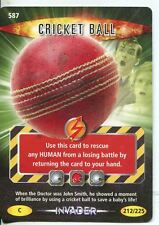 Doctor Who Battles in Time Invader #587 Cricket Ball