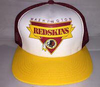 Vtg Washington Redskins Snapback hat cap 80s 90s Youngan hat cap trucker Nfl new