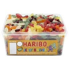 HARIBO Mini Jelly Babies Retrò Gummy Festa Dolci BOX COMPLETO