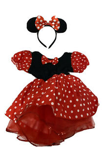 Kids Minnie Mouse Costume Size Youth Large