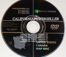 GM Sat Nav Navigation DVD Map Disc 25847541U US Canada Escalade Yukon Denali H2