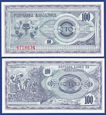 MAZEDONIEN / MACEDONIA 100 Denari 1992  UNC  P.4