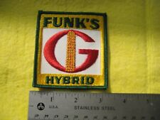 Vintage Funk's  Feed And Seed Uniform Farm Patch
