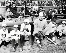 Babe Ruth Japan Photo 8X10 - Mack All Stars 1934 - Buy Any 2 Get 1 FREE