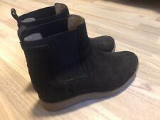 Unisa Chelsea Boots Gr. 38 Wildleder Dunkelblau