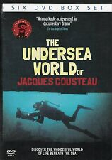 The Undersea World of Jacques Cousteau 6 DVD