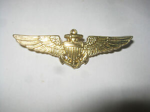 US Navy and Marine Corps Pilot Wings Badge