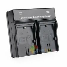 Dual Channel LP-E6 Battery Charger Quick Charging Efficiency For Canon Camera