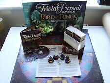 Trivial Pursuit LORD OF THE RINGS  DVD Trilogy Edition