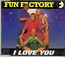 Fun Factory - I Love You, CD-Single