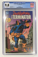 Deathstroke: The Terminator #1  Graded CGC 9.8  White Pages  Mike Zeck Cover