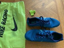 Nike Men's Track spikes - Zoom Rival M9 - Blue Size 8.5 - Worn 4X - Euc