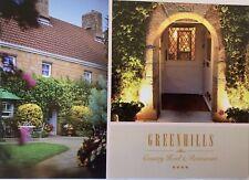 Greenhills  Hotel JERSEY POSTCARD