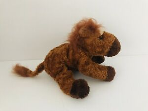 """Plush Monty The Brown Horse RUSS Berrie & Company Beanie Stuffed Animal Toy 9"""""""