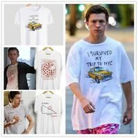 Tom Holland Cool T-Shirts, Spider-Man Far From Home Funny Find X Pizza Tees