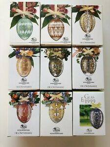 Hutschenreuther Glas Ei / Crystal Egg -- Jahrgang 1991 bis 1999 -- in OVP