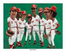 """Big Red Machine"" Cincinnati Reds 8"" x 10"" print by Noah Stokes"
