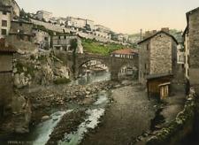 Thiers, Puy-de-Dôme  PZ vintage photochromie photochromie, vintage photochrome